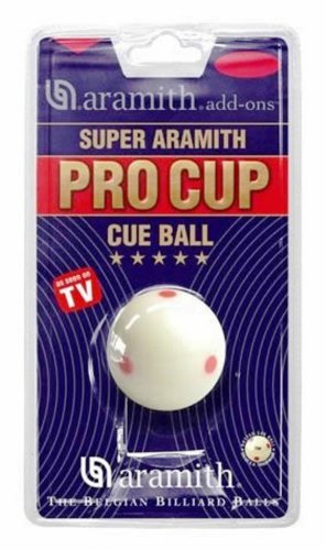 Aramith Pro Cup 6 Dot Snooker Ball - 2 1/16 Inch Size
