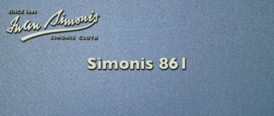 Simonis 861 Powder Blue Cloth