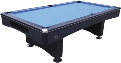 Buffalo Eliminator II - Black Table with Blue Cloth