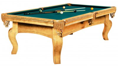 Dynamic Dynasty 8ft Oak Pool Table - Fitted with Standard Blue/Green Cloth