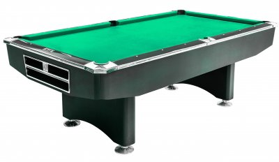 Dynamic Competition 9ft Black Table - STANDARD Green Cloth