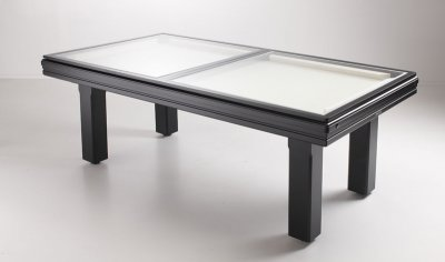 Broadway Table with Dining Tops