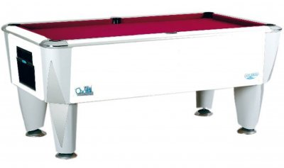 SAM Atlantic Champion Pool Table - White Cabinet Finish