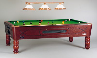 Sam Royal Mahogany Slate Bed Pool Table