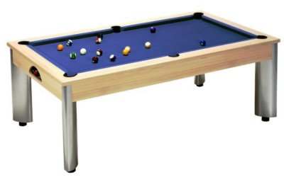 Fusion Pool Table in an Oak Finish