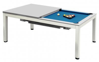 Dynamic Vancouver Grey 7ft Pool Table - Fitted with STANDARD Royal Blue Cloth