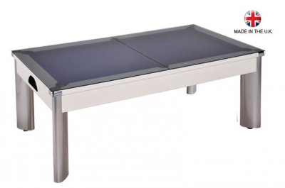 Outdoor White Fusion Pool Dining Table