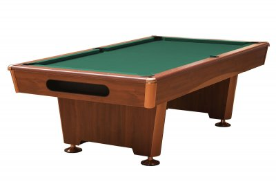 Triumph Mahogany Pool Table Fitted with STANDARD Yellow Green Cloth