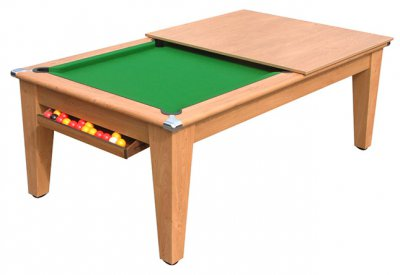 Classic Pool Dining Table in Oak