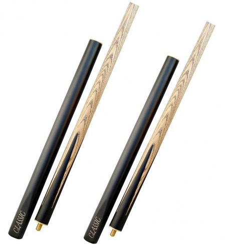 2 x 57 Inch Ash BCE Cues - Code BCL-57-3-4