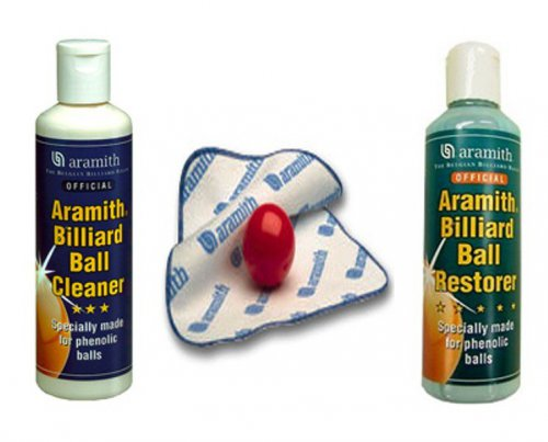 Aramith Pool & Snooker Ball Cleaning Kit