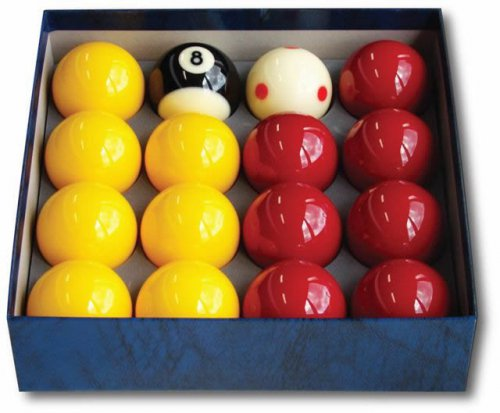 "Aramith Pro Cup Tournament Red and Yellow 2"" Balls"