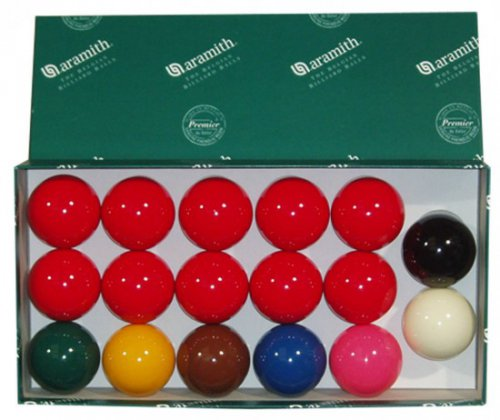 Aramith Snooker Ball Set For Coin Operated Pool Table