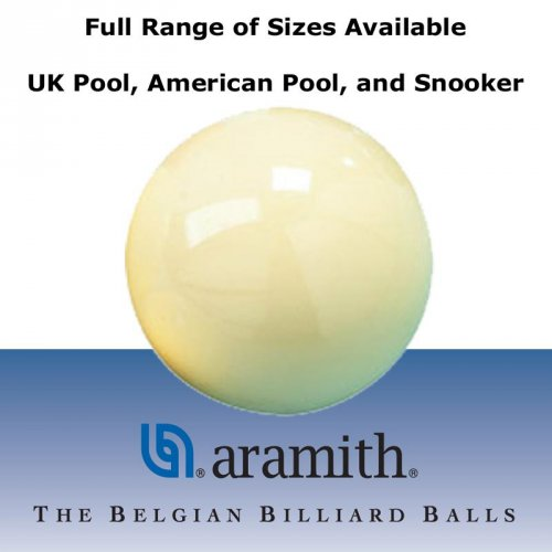 Aramith Pool and Snooker Cue Balls - Large Range