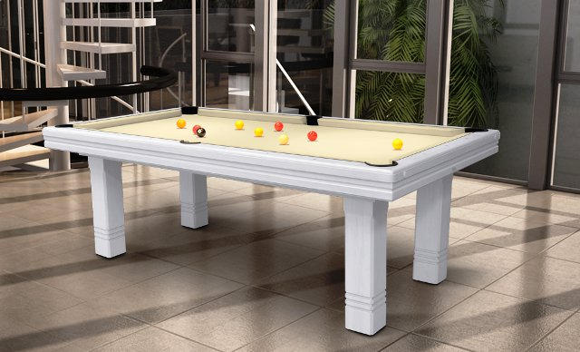 Toulet Club Pool Table