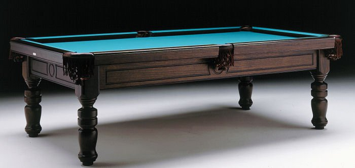 sam madrid pool table mahogany finish - Slate Pool Table
