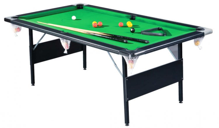 Deluxe Ft UK Size Folding Leg Pool Table Pool Tables Online - Fold up pool table full size