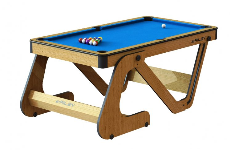 Riley Vertically Folding 6 Ft Domestic Snooker Table Black