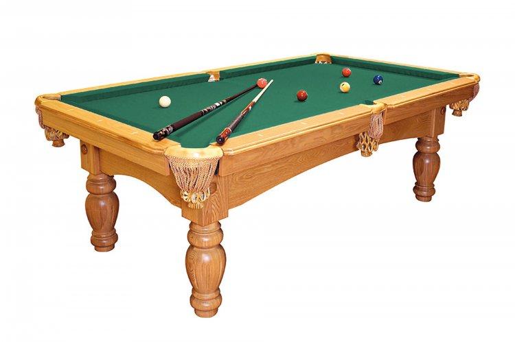 Dynamic kiev 7ft 8ft slate bed american pool table pool - Slate pool table ...