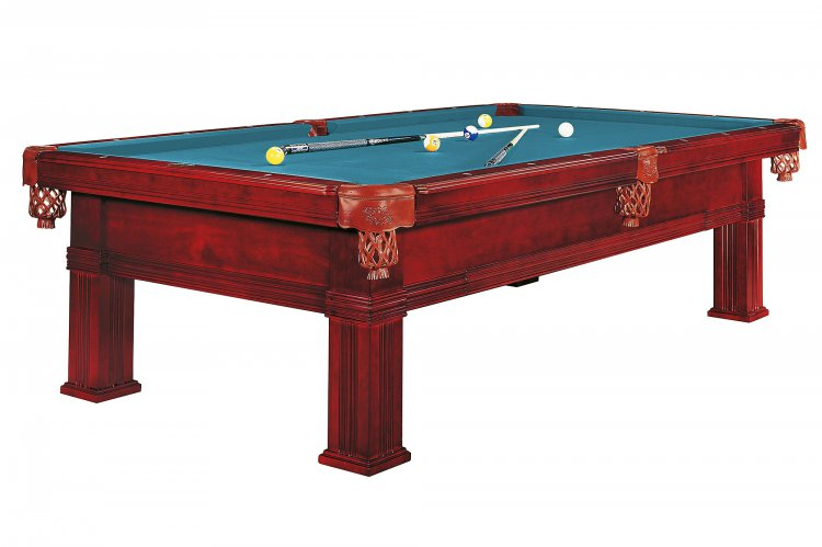 Dynamic Bern Mahogany Pool Table   Fitted With Standard Cloth