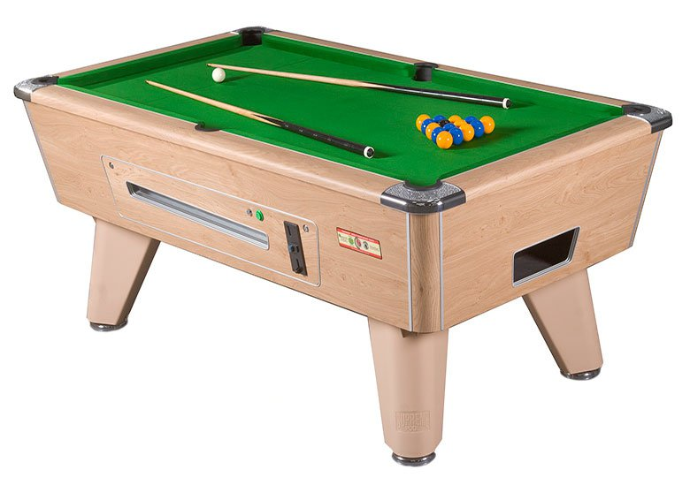 Supreme winner coin operated pub pool table pool tables - Pool table images ...