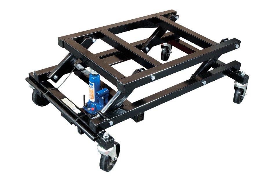 Hydraulic Pool Table Lifting TrolleyHydraulic Pool Table Trolley - Lifting a pool table